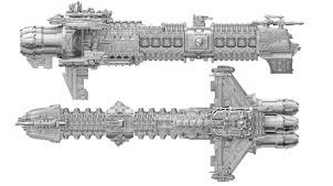 mechanicus cruiser